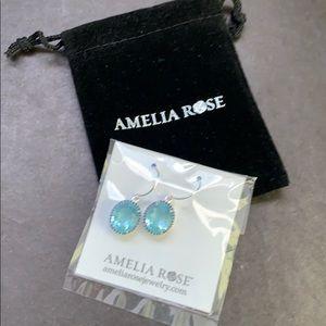 Amelia Rose dangle earrings